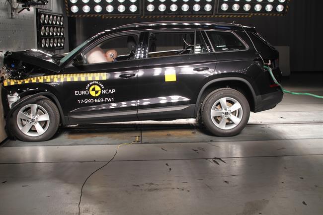 Autocasión MID Car vehículos segunda mano Madrid, Torrejón de Ardoz, Skoda Kodiaq y Mini Countryman obtienen cinco estrellas en los últimos test Euro NCAP