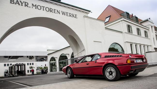 Autocasión MID Car vehículos segunda mano Madrid, Torrejón de Ardoz, El BMW M1 cumple 40 años tras su estreno en el Salón del Automóvil de París en 1978