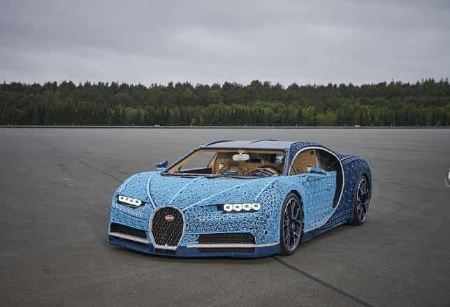 Autocasión MID Car vehículos segunda mano Madrid, Torrejón de Ardoz, lego construye un bugatti chiron de tamaño real con un millón de piezas y que se puede conducir