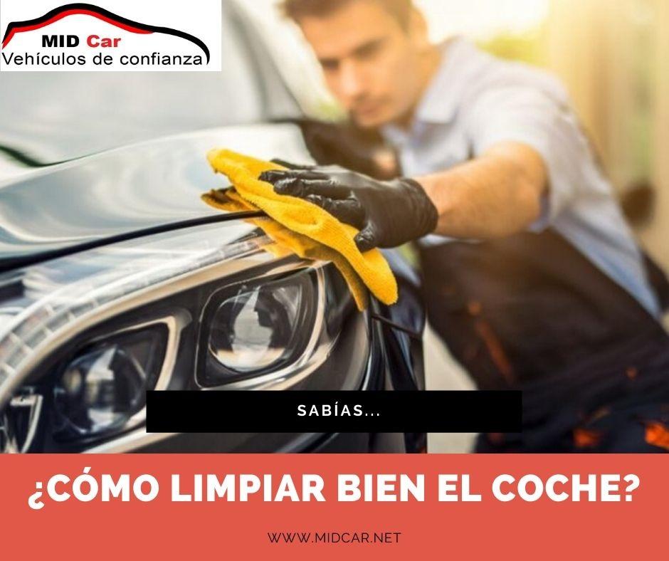 Autocasión MID Car vehículos segunda mano Madrid, Torrejón de Ardoz, como limpiar bien el coche