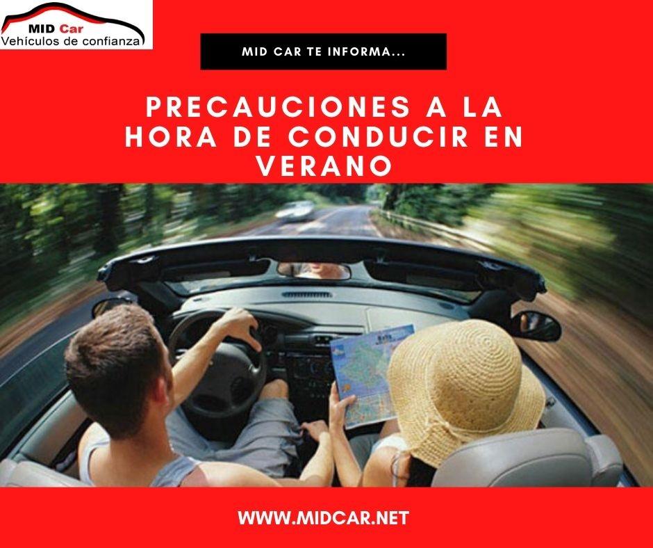 Autocasión MID Car vehículos segunda mano Madrid, Torrejón de Ardoz, Precauciones a la hora de conducir en verano