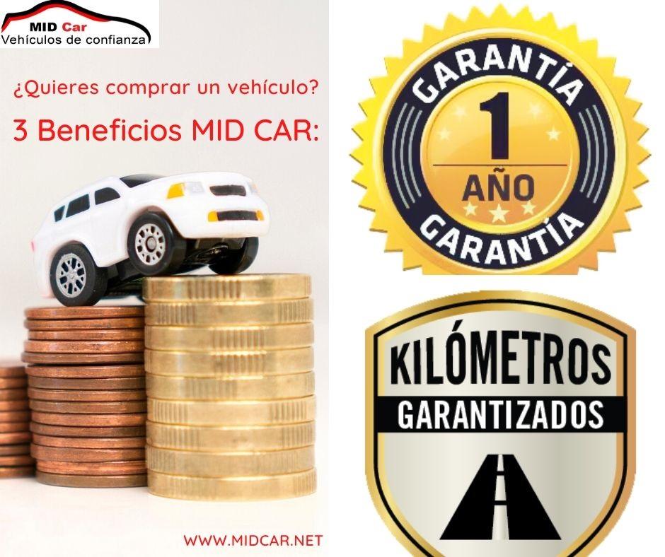 Autocasión MID Car vehículos segunda mano Madrid, Torrejón de Ardoz, Beneficios mid car