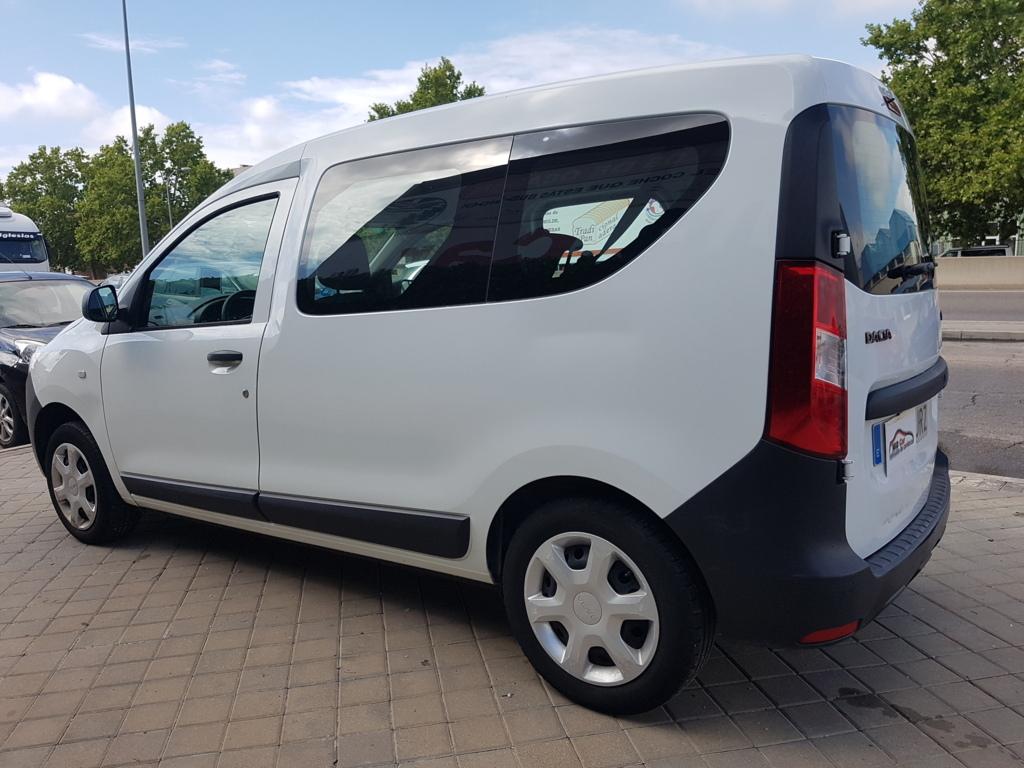 MIDCar coches ocasión Madrid Dacia Dokker Ambiance Híbrido 1.6 Híbrido Gasolina/GLP