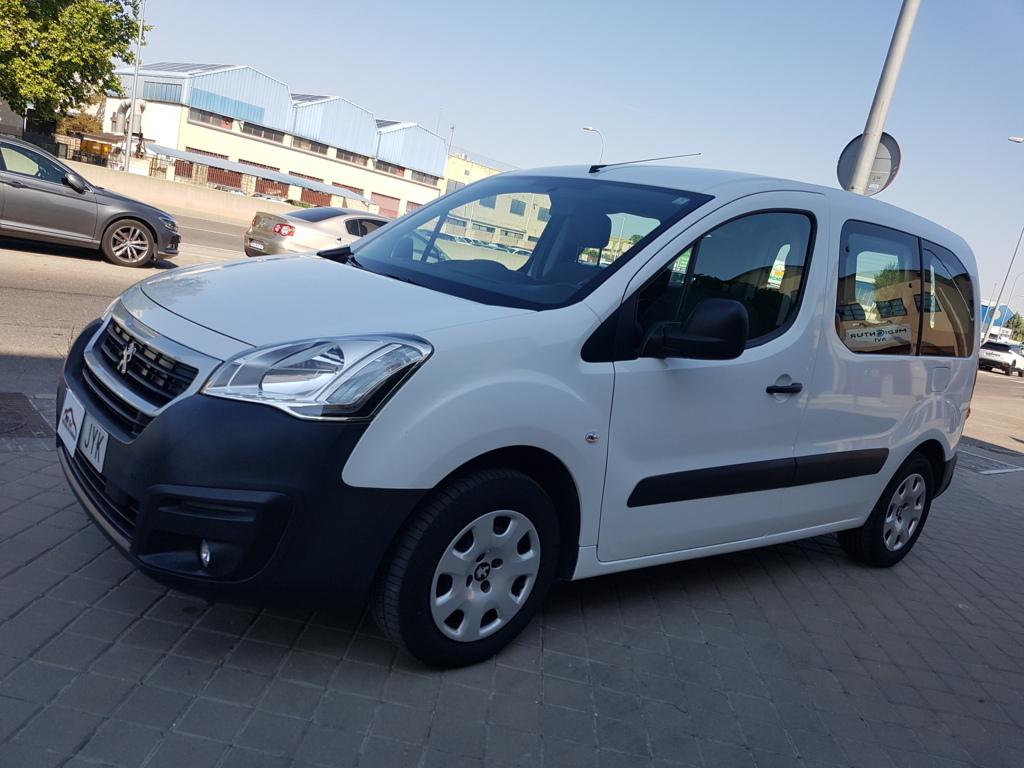 MIDCar coches ocasión Madrid Peugeot Partner 1.6Hdi Tepee Acces Bluehdi 5 Plazas