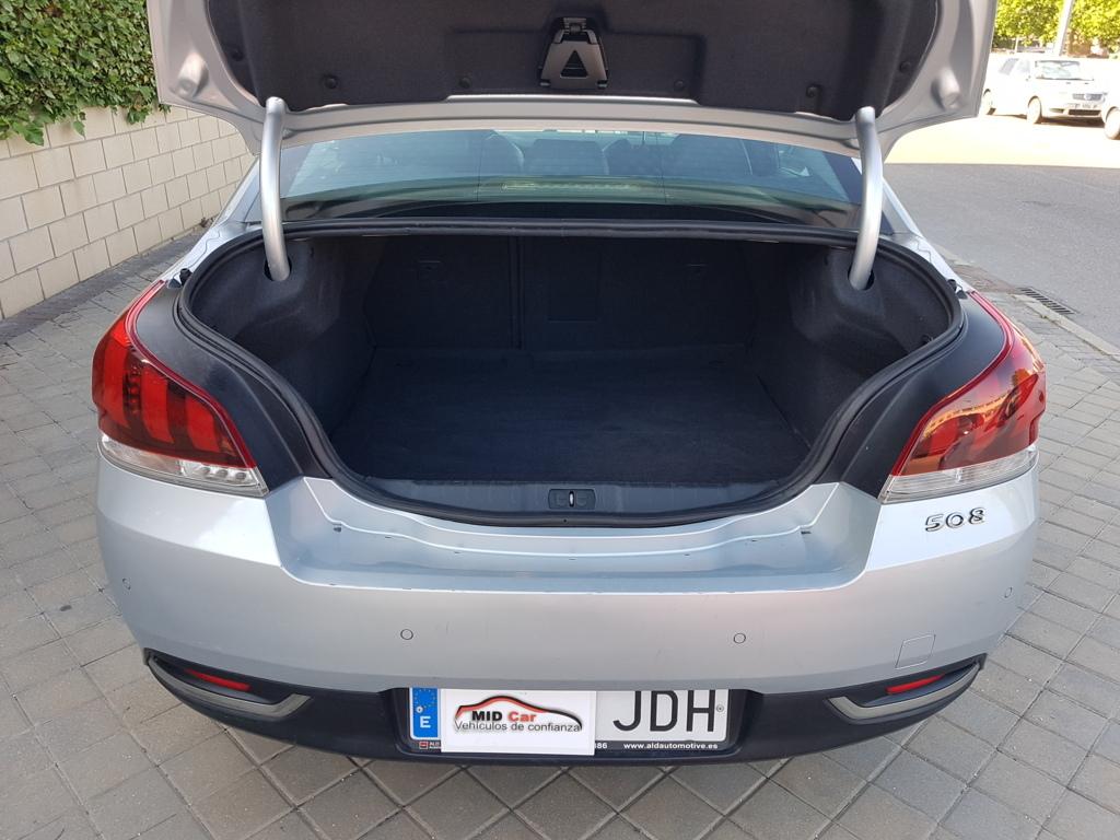 MIDCar coches ocasión Madrid Peugeot 508 Allure 2.0BlueHdi 150Cv