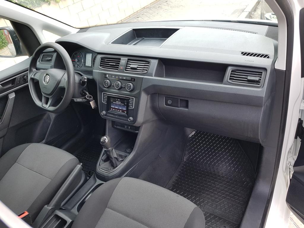 MIDCar coches ocasión Madrid Volkswagen Caddy Profe Maxi Furgón 2.0 Tdi SCR 4M BMT 122Cv