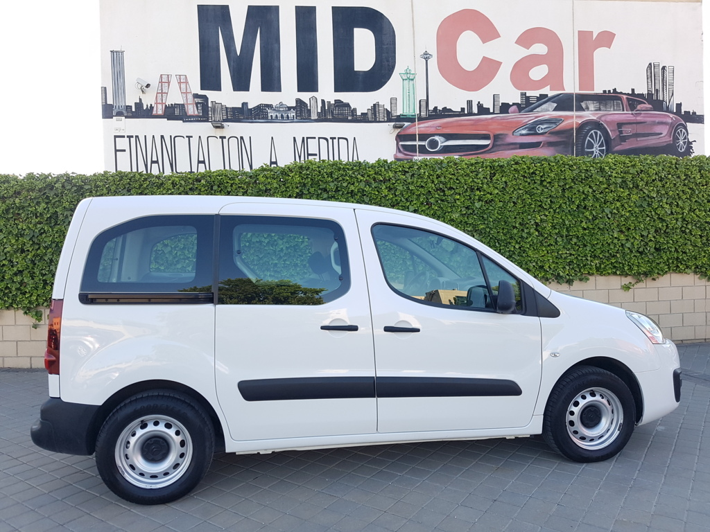 MIDCar coches ocasión Madrid Citroen Berlingo 1.6BlueHdi 5 Plazas