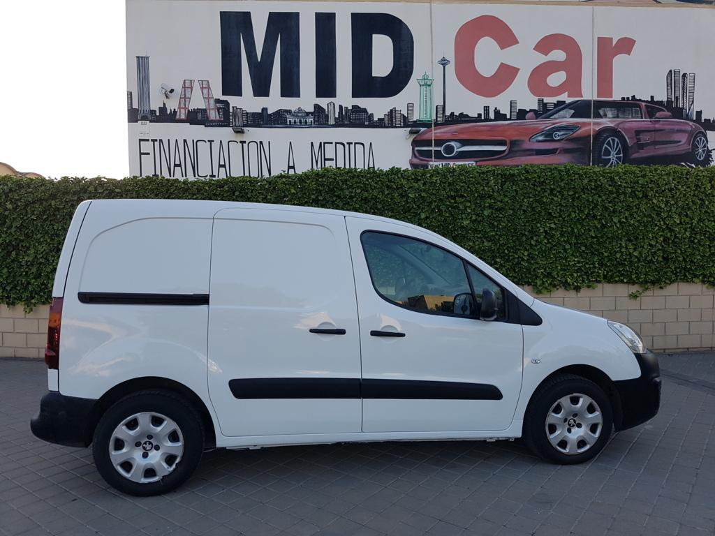 MIDCar coches ocasión Madrid Peugeot Partner 1.6Hdi