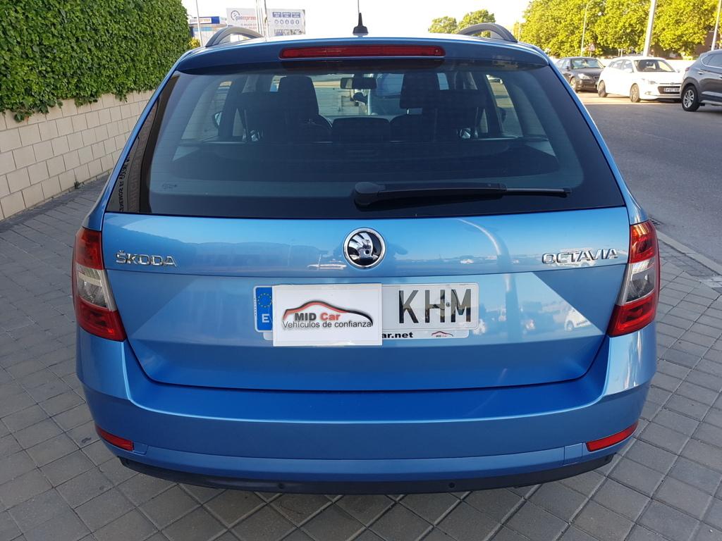 MIDCar coches ocasión Madrid Skoda Octavia Combi 1.6Tdi 115Cv
