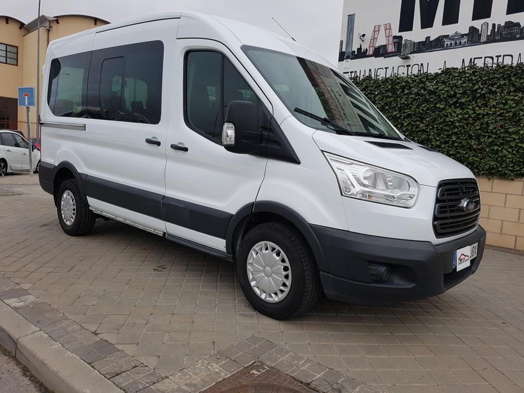 Autocasión MID Car vehículos segunda mano Madrid, Torrejón de Ardoz, FORD Transit 330 125cv L2H2 Kombi Trend Delantera al mejor precio