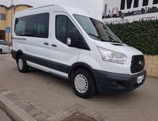 Autocasión MID Car vehículos segunda mano Madrid, Torrejón de Ardoz - FORD Transit 330 125cv L2H2 Kombi Trend Delantera al mejor precio