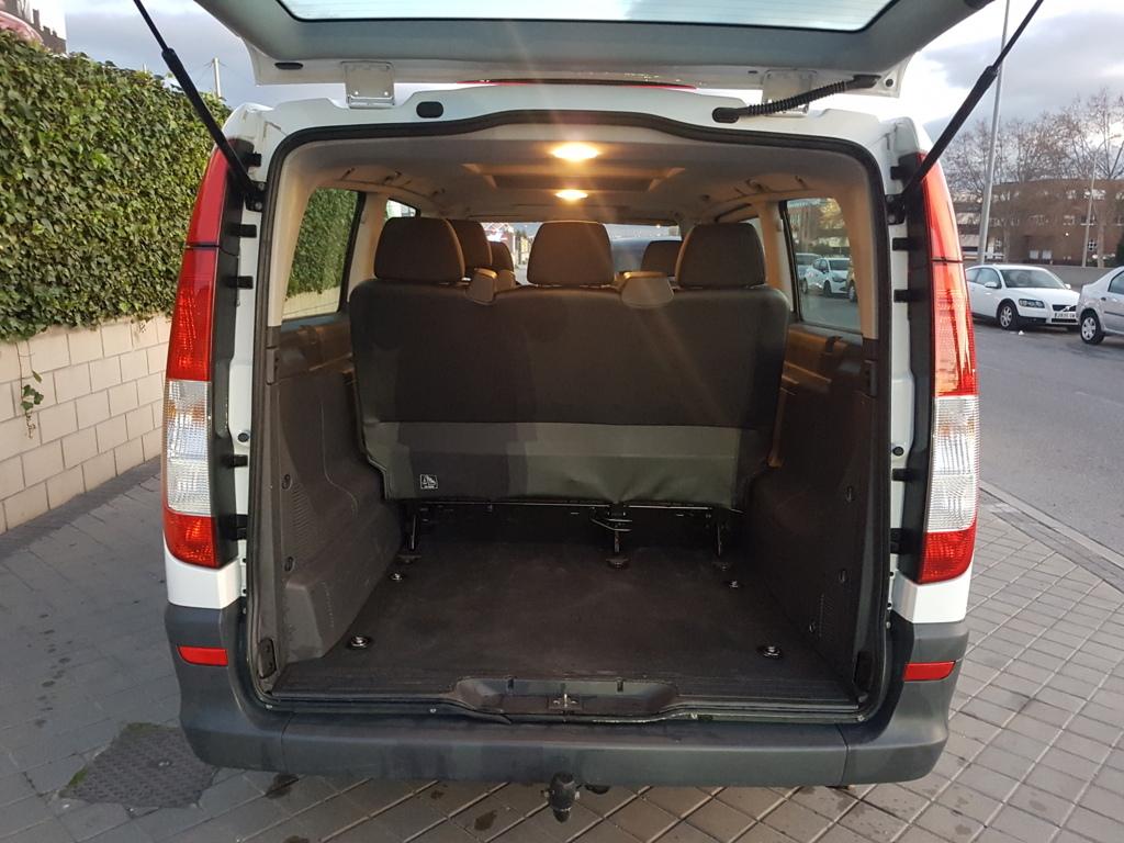 Autocasión MID Car vehículos segunda mano Madrid, Torrejón de Ardoz, Mercedes Benz Vito Kombi 2.2Cdi 136Cv Extralarga 8 Plazas al mejor precio