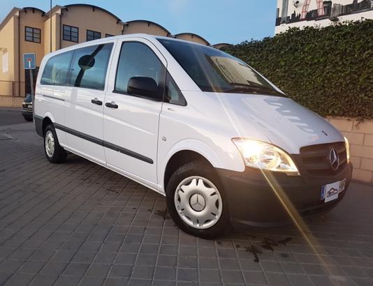 Autocasión MID Car vehículos segunda mano Madrid, Torrejón de Ardoz - Mercedes Benz Vito Kombi 2.2Cdi 136Cv Extralarga 8 Plazas al mejor precio