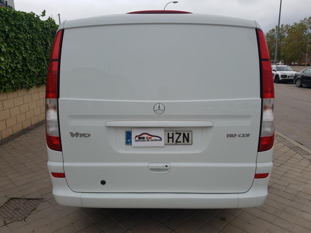 Autocasión MID Car vehículos segunda mano Madrid, Torrejón de Ardoz, Mercedes Benz Vito 110  2.2Cdi Larga al mejor precio