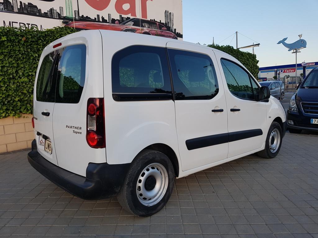 Autocasión MID Car vehículos segunda mano Madrid, Torrejón de Ardoz, Peugeot Partner 1.6Hdi Combi Tepee Acces 100Cv al mejor precio