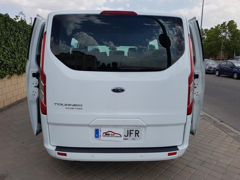 Autocasión MID Car vehículos segunda mano Madrid, Torrejón de Ardoz, Ford Tourneo Custom 2.2Tdci 8 Plazas al mejor precio