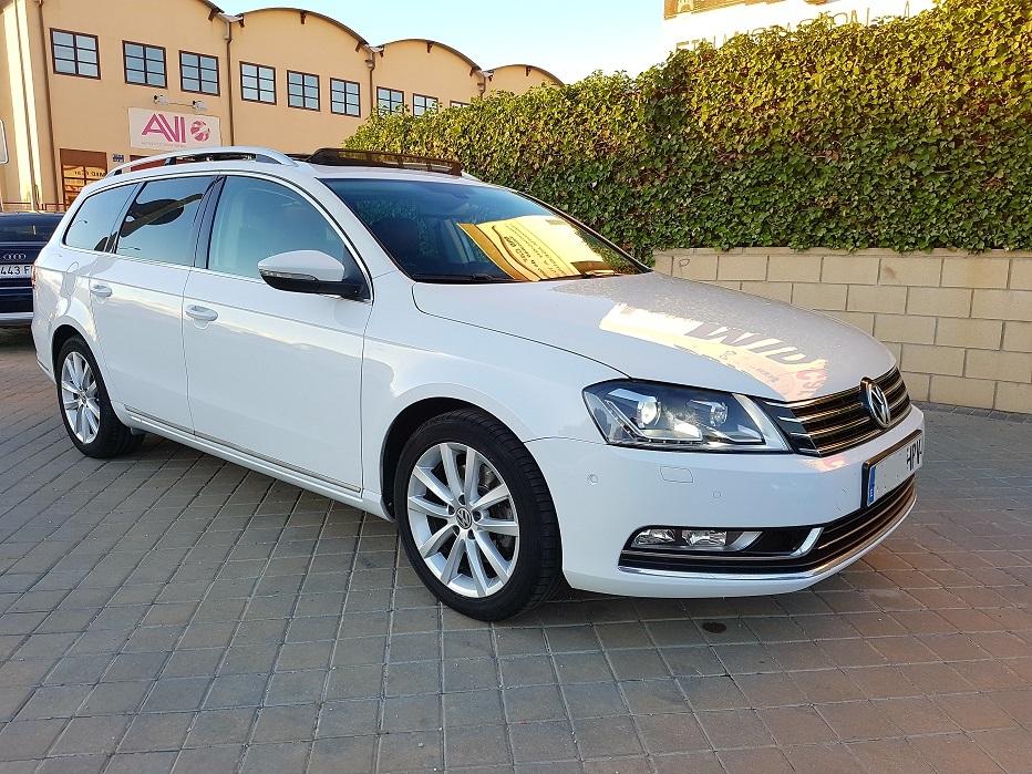 Autocasión MID Car vehículos segunda mano Madrid, Torrejón de Ardoz, Volkswagen Passat Variant 2.0 TDI 140cv Highline BMot Tech al mejor precio