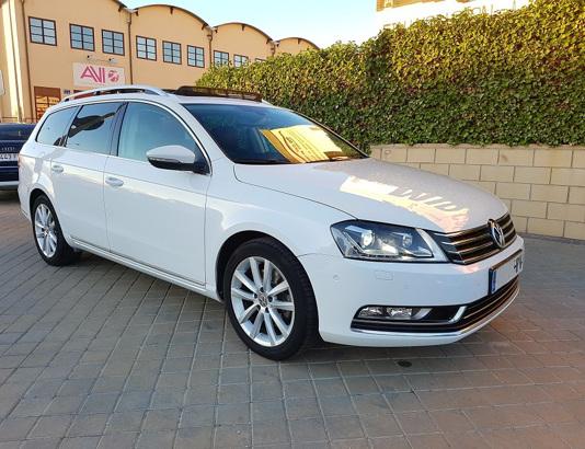 Autocasión MID Car vehículos segunda mano Madrid, Torrejón de Ardoz - Volkswagen Passat Variant 2.0 TDI 140cv Highline BMot Tech al mejor precio
