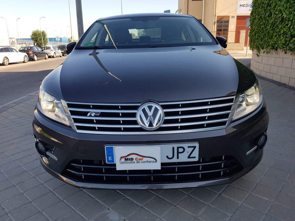 MIDCar coches ocasión Madrid Vw CC 2.0Tdi DSG BMT RLine 5 Plazas