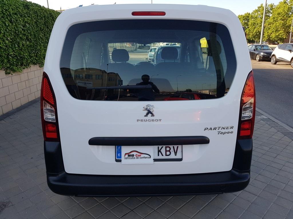 MIDCar coches ocasión Madrid Peugeot Partner 1.6Hdi Tepee Acces Bluehdi 75Cv